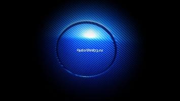 4D карбон синий